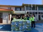 JDC, 도내 영구임대주택 631가구에 쌀 지원