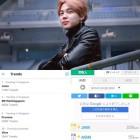 방탄소년단 지민, 글로벌 인기 실감!...'Jimin' 각국의 트렌딩 1위!