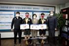 김천대 스쿼시부, 전국대회 남자 복식 우승 `화제`...창단 `보름만`