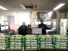 옹진군 영흥면, 저소득장애인가구 사랑의 온수매트, 쌀 전달