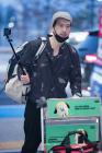 박정철 '준비를 완벽하게' (인천공항 출국)