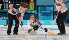 컬링 결승, 한국-스웨덴 컬링 결승 5엔드 1-4