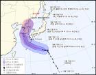 오늘날씨, 태풍 솔릭 북상중, 예상 이동 경로 23일 한반도 상륙 예정...전국 기상특보
