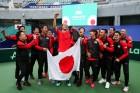 일본,카자흐스탄 월드그룹 진출