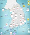 서울, 부산, 대구 등 열대야는 해소, 주춤하던 폭염 내일 다시 시작..태풍 '솔릭' 북상