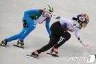 쇼트트랙 김예진, 500m, 3000m 계주,1000m 석권 대회 3관왕 등극