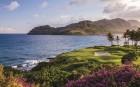 충격과 놀라움, 하와이 카우아이의 아름다운 골프코스