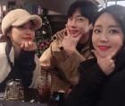 """허영지 언니 허송연, 배윤경-강성욱과 다정샷…""""이 무슨 조합"""""""
