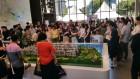 전주 만성 이지움 레이크 테라스··· 23,000명 몰려 '성황'