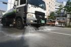 서울 중구, 불덩이 도심 식히기에 물 7천238톤 뿌려
