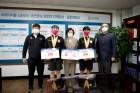 김천대 스쿼시부, 제17회 대한체육회장배 전국스쿼시부 선수권대회에서 복식부 우승 차지