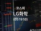 LG화학(051910), 2019년 01월 23일 13시 10분 기준 주식시황