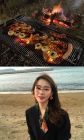 """'연애의 맛' 김진아 인스타, 김정훈과 럽스타그램 시작...""""불 피우는 것 빼고 다 잘하는♥"""""""