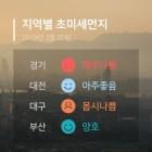 20일 08시 기준 전국 초미세먼지는? 서울 초미세먼지 '위험' 부산 '몹시나쁨'
