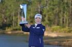 LPGA 한국 최고령 우승 지은희, 세계 랭킹 7계단 올라 25위