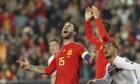 '라모스 결승골' 스페인, 노르웨이 잡고 유로2020 예선 첫승