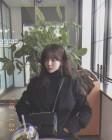 AOA 지민, 올블랙으로 뽐낸 시크함 '인형인 줄'