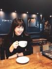 '셋째 임신' 이윤미, 디카페인 커피 즐기는 예비 다둥맘