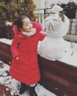 소이현♥인교진 딸 하은, 눈사람도 녹일 큐티뽀짝 눈웃음