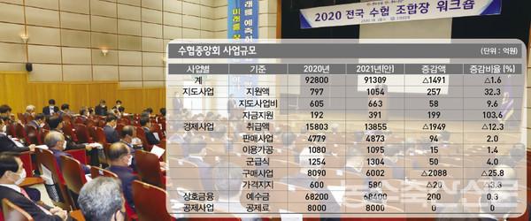 [분석] 2021 수협중앙회 예산안, 어떻게 짜여졌나